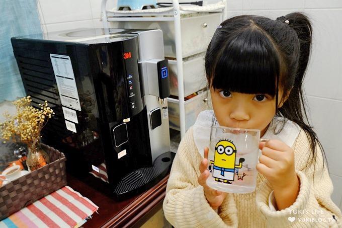 美型家電開箱【3M™桌上型極淨冰溫熱飲水機HCD-2】自動儲水超方便×呵護家人的過濾飲用水