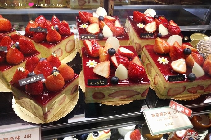 台北美食【艾莉兒甜品盒】充滿草莓的夢幻蛋糕、下午茶咖啡 @台北車站、京站B3 - yukiblog.tw