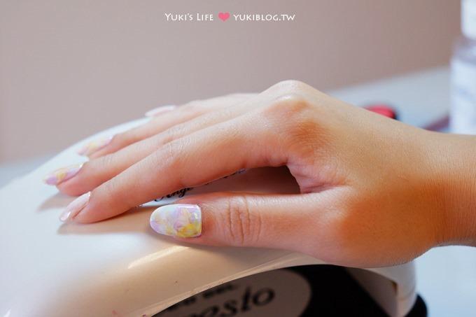 板橋光療美甲┃新款分享❤奢華金屬個性款&果凍公主款&彩色暈染綿花糖款~花季美甲 - yukiblog.tw