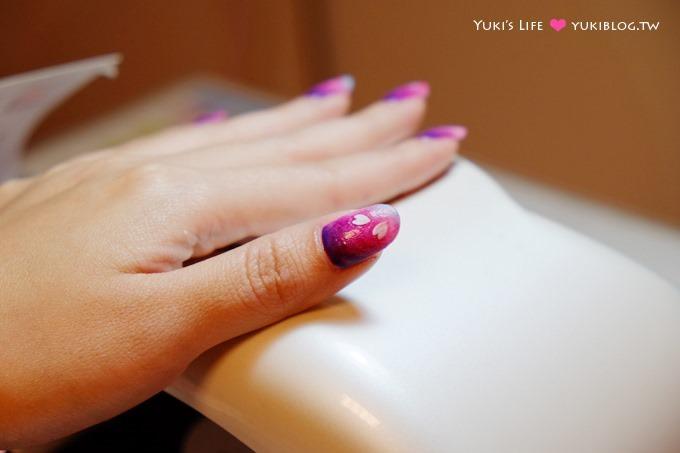 光療指甲【板橋花季美甲】櫻花瓣紫色和風款&蝴蝶結甜美風款&夏季藍沙清涼款 - yukiblog.tw