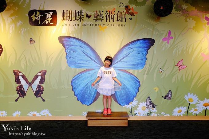 宜蘭景點【蘇澳綺麗蝴蝶藝術館】最齊全的蝴蝶、昆蟲標本收藏館~親子旅遊好去處