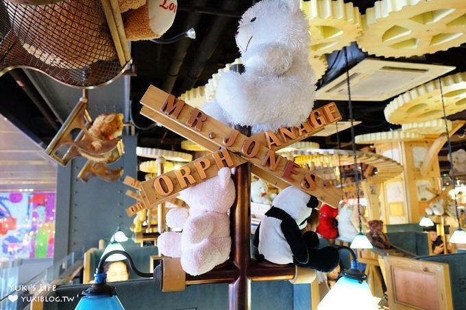 曼谷親子自由行【Mr.Jones' Orphanage】熊熊火車主題甜點店×人氣必吃下午茶(暹羅站Siam Center百貨) - yukiblog.tw