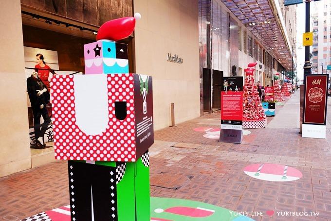 【2013香港聖誕節】繽紛冬日節@銅鑼灣‧名店坊「人人都是聖誕老人」 - yukiblog.tw