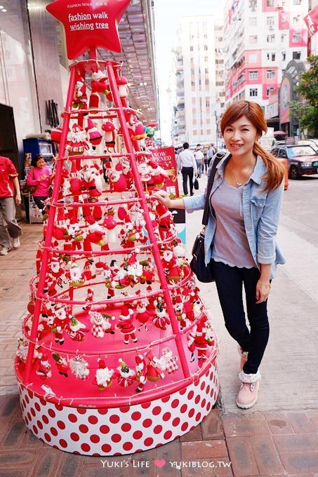 【2013香港聖誕節】繽紛冬日節@銅鑼灣‧名店坊「人人都是聖誕老人」