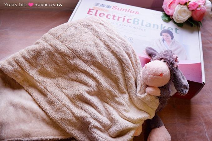 分享【三樂事隨意披蓋電熱毯】可水洗冬天保暖好物~好輕巧的柔毛被.外出好攜帶