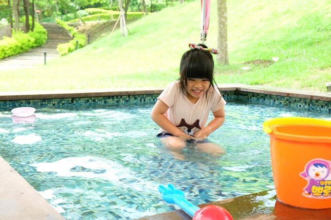 新竹景觀餐廳【心鮮森林莊園】LOVE大草皮拍照景點×玩水玩沙親子遊 - yukiblog.tw