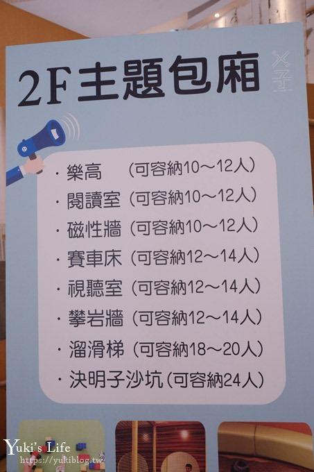 台中親子餐廳【ㄨ子/叉子餐廳】戶外沙坑×親子遊戲房包廂×家庭聚餐好選擇 - yukiblog.tw
