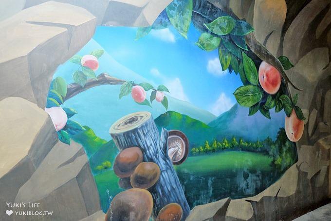 桃園復興免費景點【角板山行館】new戰備隧道3D彩繪×和風日式建築×LOVE造景拍照野餐約會去 - yukiblog.tw