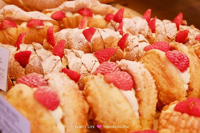 韓國首爾自由行【PARIS BAGUETTE】到處都有的連鎖麵包店、好吃又豐富