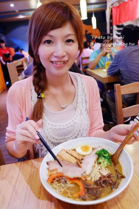 台北美食┃樂麵屋‧最強叉燒豬排咖哩拉麵 (板橋店限定) - yukiblog.tw