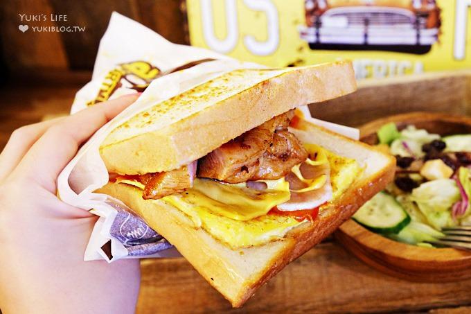 台北美食【吐司工寓】台灣也吃的到ISAAC風韓式鐵板吐司三明治@市政府站美食