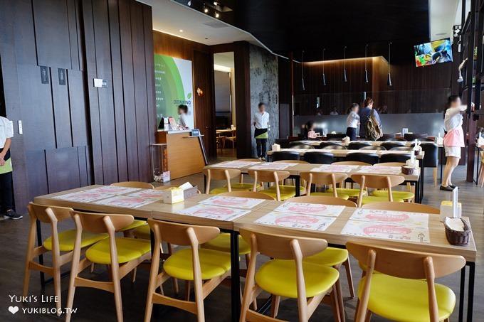 彰化親子餐廳【嘚嘚茶語共和】電影放映遊戲區×室內氣墊×室外草皮沙坑×餐點大份量價格平實適合親子聚餐 - yukiblog.tw