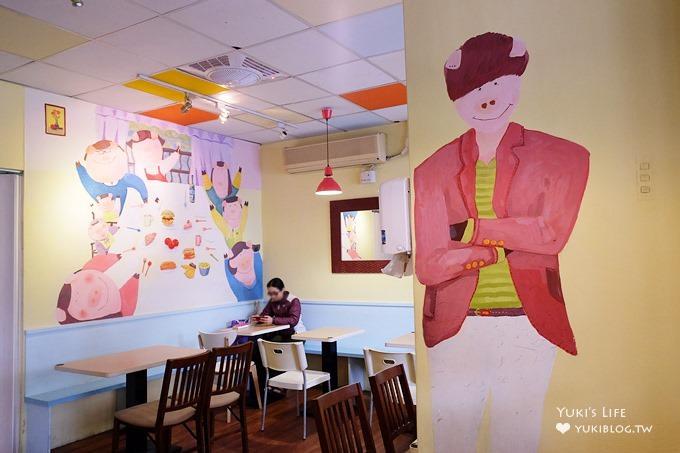 板橋早午餐【三隻小豬】好厚的小豬格子脆三明治×7點就營業的豐富早午餐@府中站 - yukiblog.tw