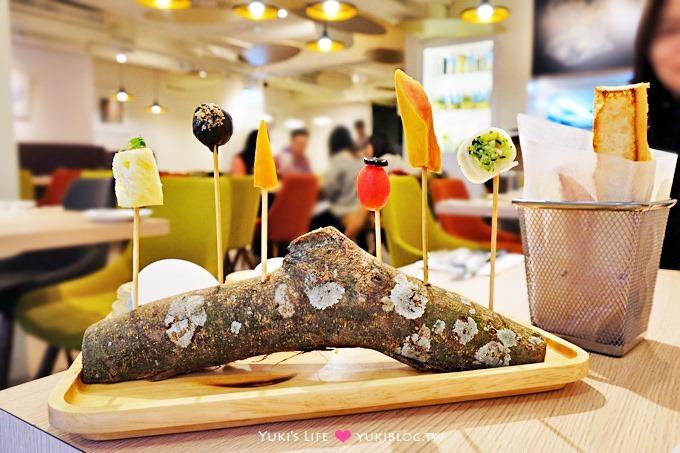 台北東區美食【璞食Cucina pura】香水瓶主題餐廳×女生聚餐推薦(消費免費送樹幹上的6小食創意料理、打卡還送咖啡茶飲) - yukiblog.tw