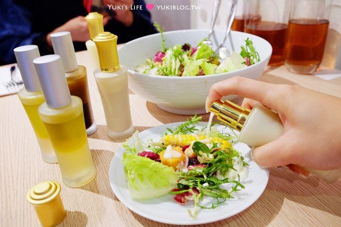 台北東區美食【璞食Cucina pura】香水瓶主題餐廳×女生聚餐推薦(消費免費送樹幹上的6小食創意料理、打卡還送咖啡茶飲)