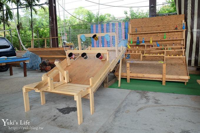 台中景點【公老坪親子餐廳】景觀親子景點、小型動物園、手作遊具隨你玩 - yukiblog.tw