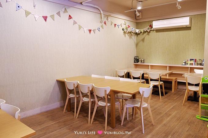 板橋親子餐廳【DUMA Brunch & Pasta】早午餐+沙坑的免曬太陽幸福行程 - yukiblog.tw