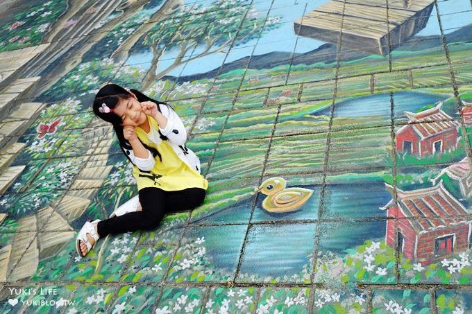 免費親子景點【桃園市客家文化館】不用跑山區就能輕鬆賞油桐花×桐花祭地景藝術×3D彩繪 - yukiblog.tw