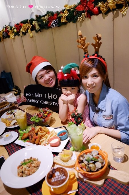 台北美食【曉確幸】繽紛聖誕節Party派對餐❤交換禮物聚餐好去處 @信義店