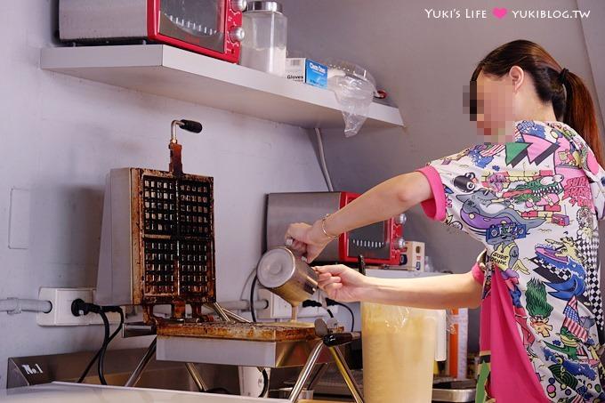 板橋【黑鑽咖啡‧府中NO.1】三角窗經濟!手沖咖啡+咖啡鬆餅 @府中站 - yukiblog.tw