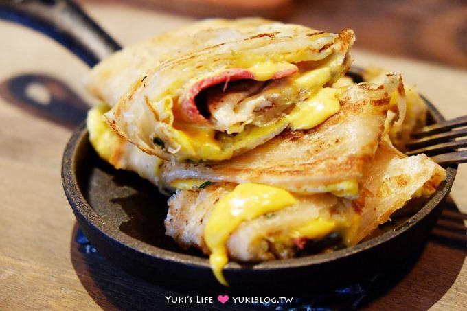 台北西門町【GURU HOUSE早午餐/咖啡】平價厚煎蛋餅、不限時、wifi、插座