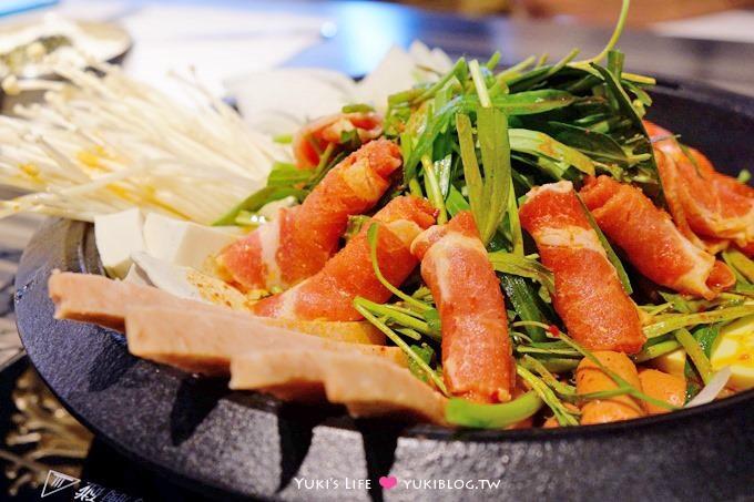 台北車站美食【K-Boom K棒韓式料理】首爾塔炸雞疊疊樂太誇張!部隊鍋超豪華! 好吃推薦 - yukiblog.tw
