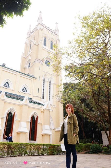 香港自由行【聖約翰大教堂】香港最古老美麗西式教堂景點 @中環站