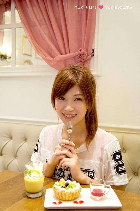 台北下午茶推薦【夢甜屋 MONTEUR Café】日本東京來台夢幻甜點、年輪蛋糕 - yukiblog.tw