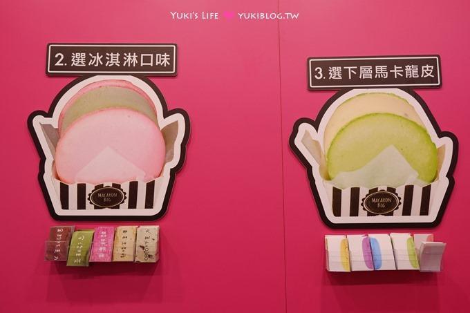 台北西門町【Mini Melts 粒粒冰淇淋】超大彩色馬卡龍冰淇淋VS超小粒粒冰 - yukiblog.tw