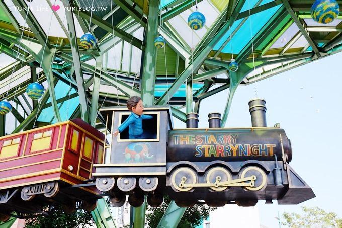 宜蘭新景點【幾米星空飛天火車&長頸鹿火車站】丟丟噹森林的繪本世界 @宜蘭火車站 - yukiblog.tw
