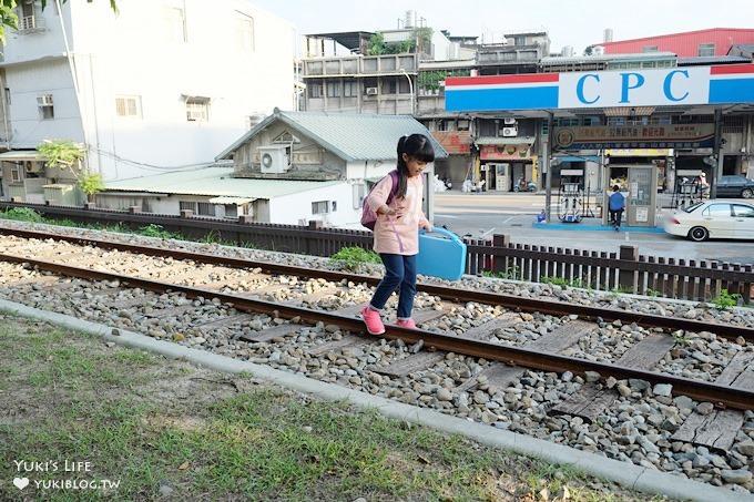新北免費親子景點┃來百年古蹟『山佳車站』當小小站長~鐵道公園立體彩繪超可愛 - yukiblog.tw
