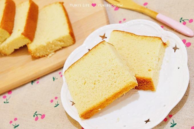 新手烘焙【古早味細緻蜂蜜蛋糕(分蛋法)】真材實料無添加!第一次做就上手!