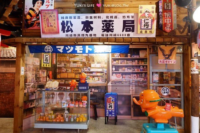 台北景點【日藥本舖博物館】日本昭和時期藥妝街懷舊場景、免費參觀@西門町