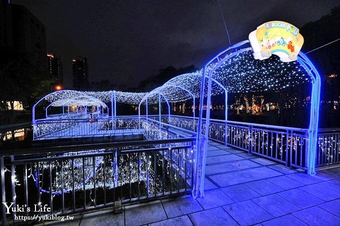 《2018新北市歡樂耶誕城》🎄太空星球樂園×4大燈橋×波力POLI公園~必拍攻略帶你一次逛透透! - yukiblog.tw