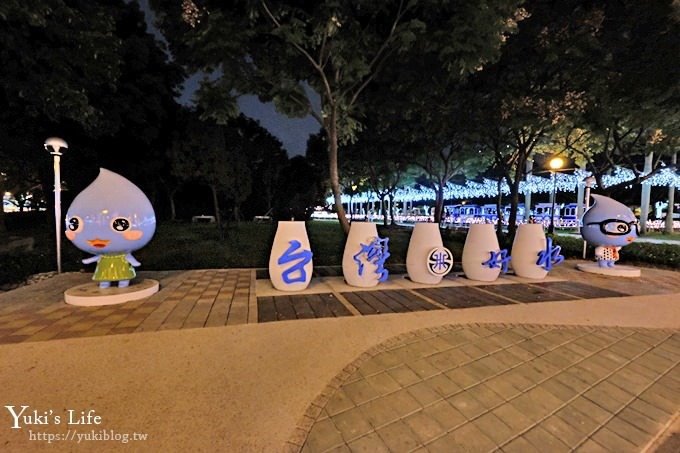 【2018新北市歡樂耶誕城】太空星球樂園×4大燈橋×波力POLI公園~必拍攻略帶你一次逛透透! - yukiblog.tw