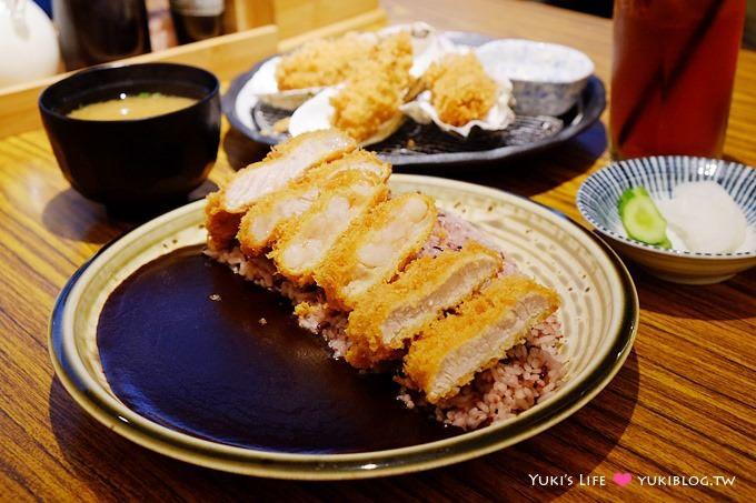 台北公館美食【赤神日式豬排】好特別的黑咖哩.豬排香酥好吃❤ 公館站