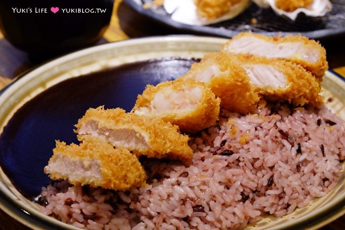 台北公館美食【赤神日式豬排】好特別的黑咖哩.豬排香酥好吃❤ 公館站 - yukiblog.tw