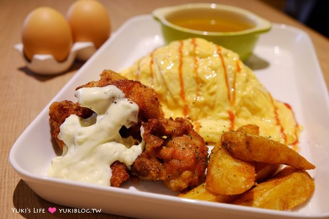 台北美食【Q丸和洋食堂】炸雞還不賴~CITYLINK南港店 - yukiblog.tw