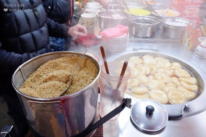 五十年懷念古早味【筒蕭魯麻糬】燒麻糬香甜有彈性×紅豆湯也好古早味@博愛街夜市樹林美食 - yukiblog.tw