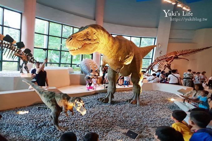 台中景點【國立自然科學博物館】恐龍廳超熱門~親子景點一日遊來這兒玩! 室內景點