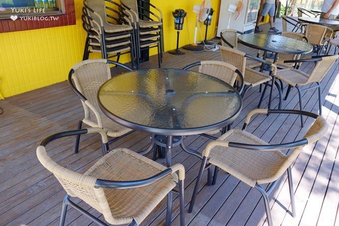 台北深坑老街親子餐廳【阿柔洋房】兩層樓溜滑梯×藍球場×魚池的親子放風好去處 - yukiblog.tw