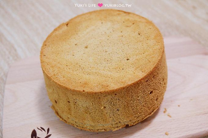 新手烘焙【雙色大理石咖啡戚風蛋糕】迷人淡雅香氣.搭配熱咖啡剛剛好! 鬆軟不甜膩配方 - yukiblog.tw