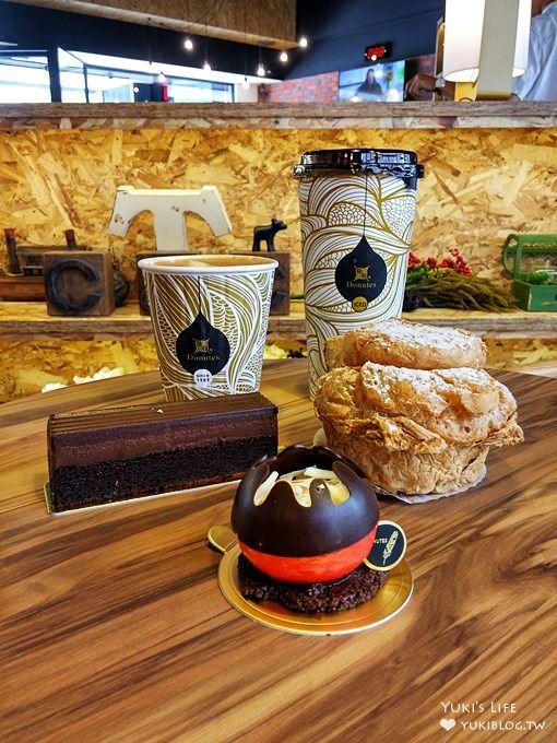 【多那之蛋糕烘焙坊(八德店)】高质感文青咖啡厅氛围(连锁咖啡面包店/树林美食/树林下午茶)