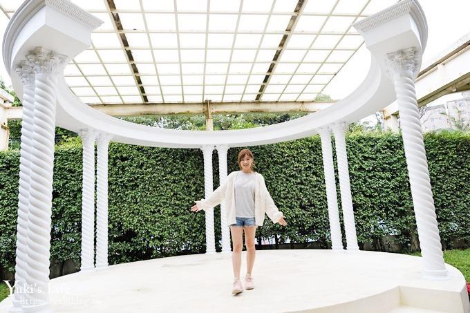 桃園景點【Amour373cafe】麋鹿旋轉木馬、鑽石噴水池景觀餐廳×歐風佈景免費親子美拍好去處 - yukiblog.tw