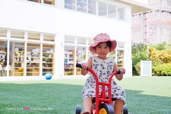 台中【嘎嗶惦Carpe Diem】沙坑、腳踏車溜滑梯親子餐廳、親子聚會生日趴場地(5月新開幕) - yukiblog.tw