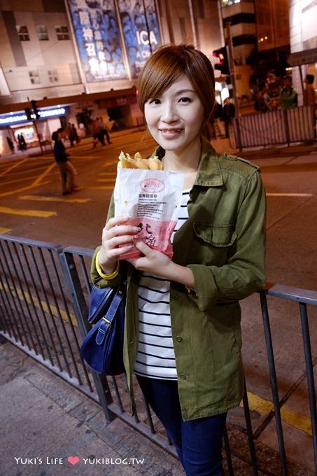 香港自由行【利强记北角鸡蛋仔】外脆内软Q @地铁北角站美食