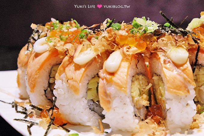 台北【KUMA手作日式料理】豪華鮭魚卵壽司蛋糕你見過嗎?@南京三民站 - yukiblog.tw