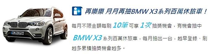 刷卡也是主婦的聰明消費之道!花旗衝回饋密技、月月抽BMW X3百萬休旅車 - yukiblog.tw