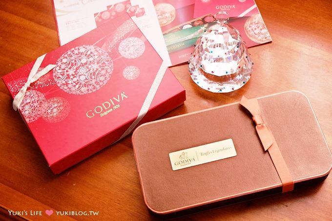 【GODIVA巧克力】2013聖誕節限量版禮盒&經典松露巧克力~時尚送禮