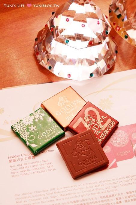 【GODIVA巧克力】2013聖誕節限量版禮盒&經典松露巧克力~時尚送禮 - yukiblog.tw